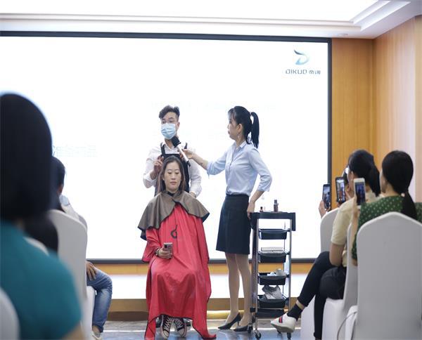 植物养发包头培训现场