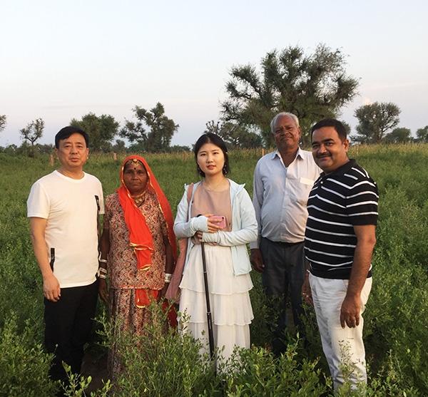 印度考察养发粉发源地